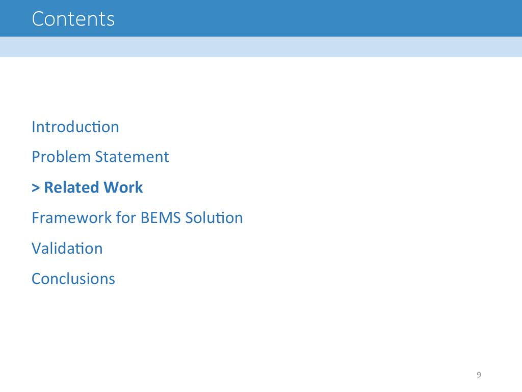 Contents Introduc8on  Problem Statement...