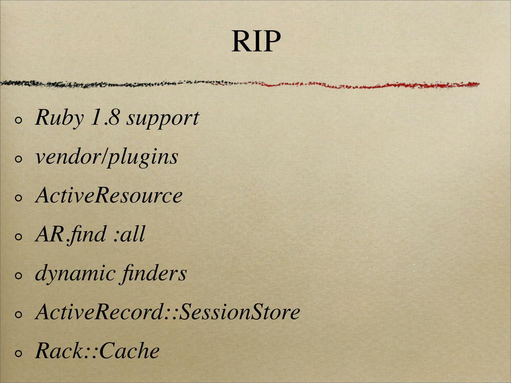 RIP Ruby 1.8 support vendor/plugins ActiveResou...