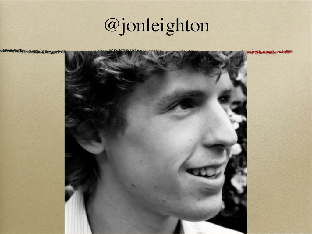 @jonleighton