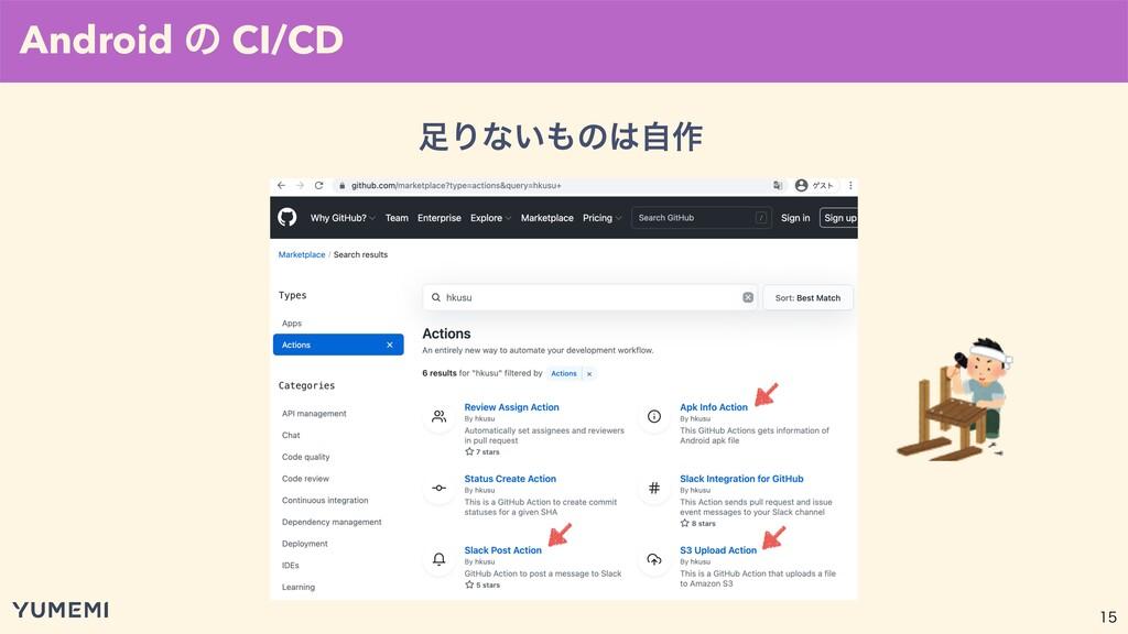 Android ͷ CI/CD Γͳ͍ͷࣗ࡞
