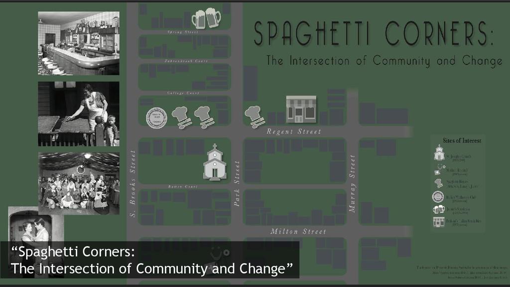 """Spaghetti Corners: The Intersection of Communi..."