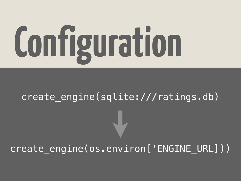 Configuration create_engine(sqlite:///ratings.d...
