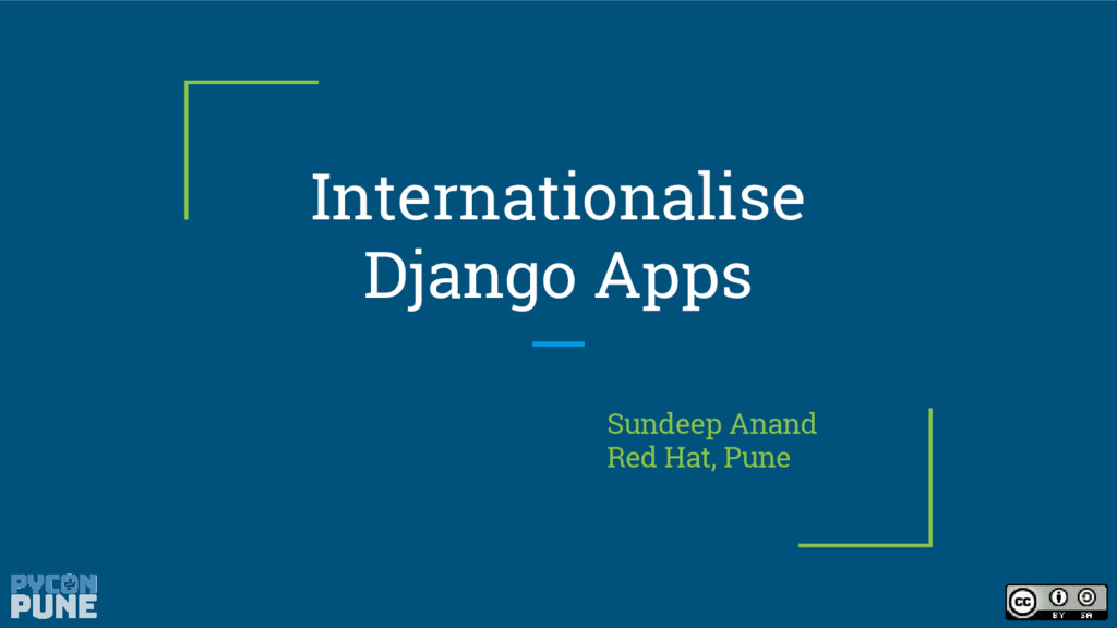 Internationalise Django Apps Sundeep Anand Red ...