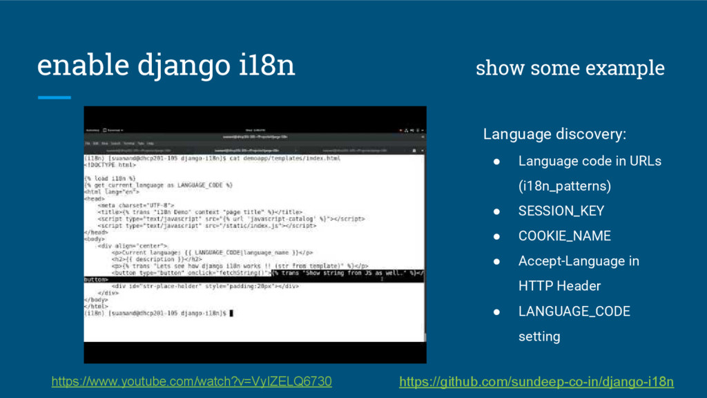 enable django i18n show some example Language d...