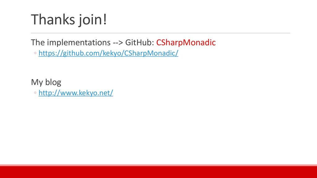 Thanks join! The implementations --> GitHub: CS...