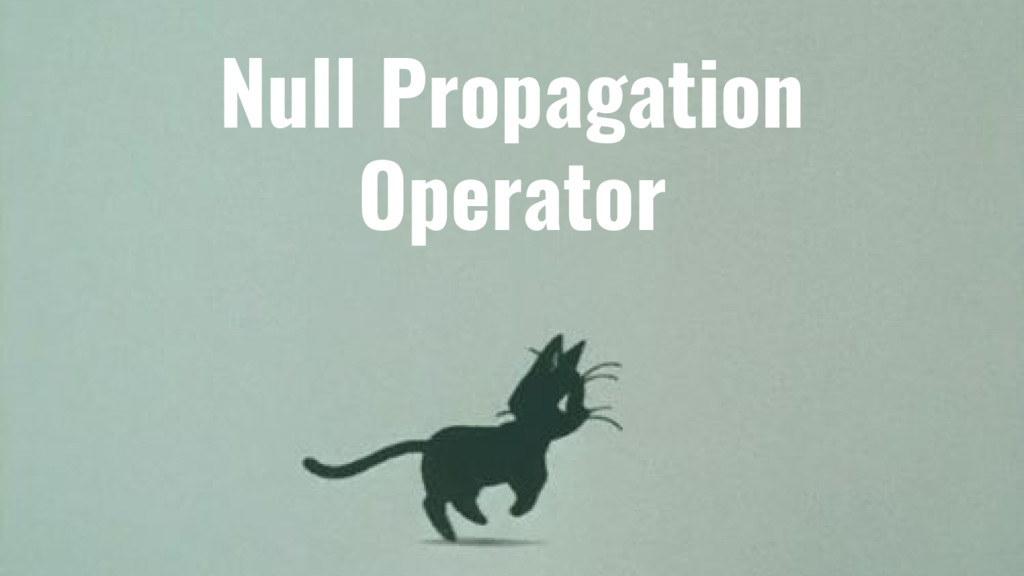 Null Propagation Operator
