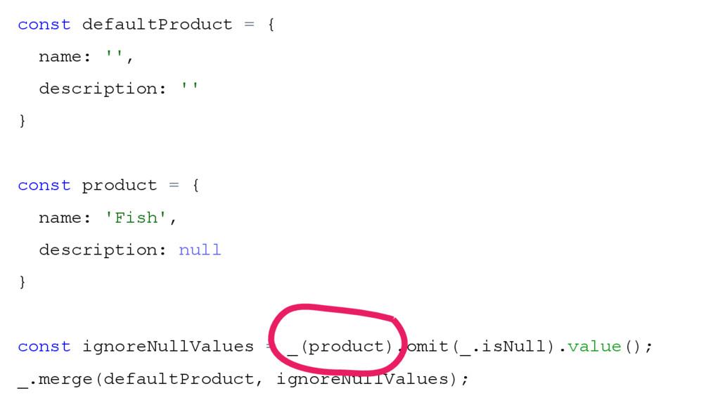 const defaultProduct = { name: '', description:...