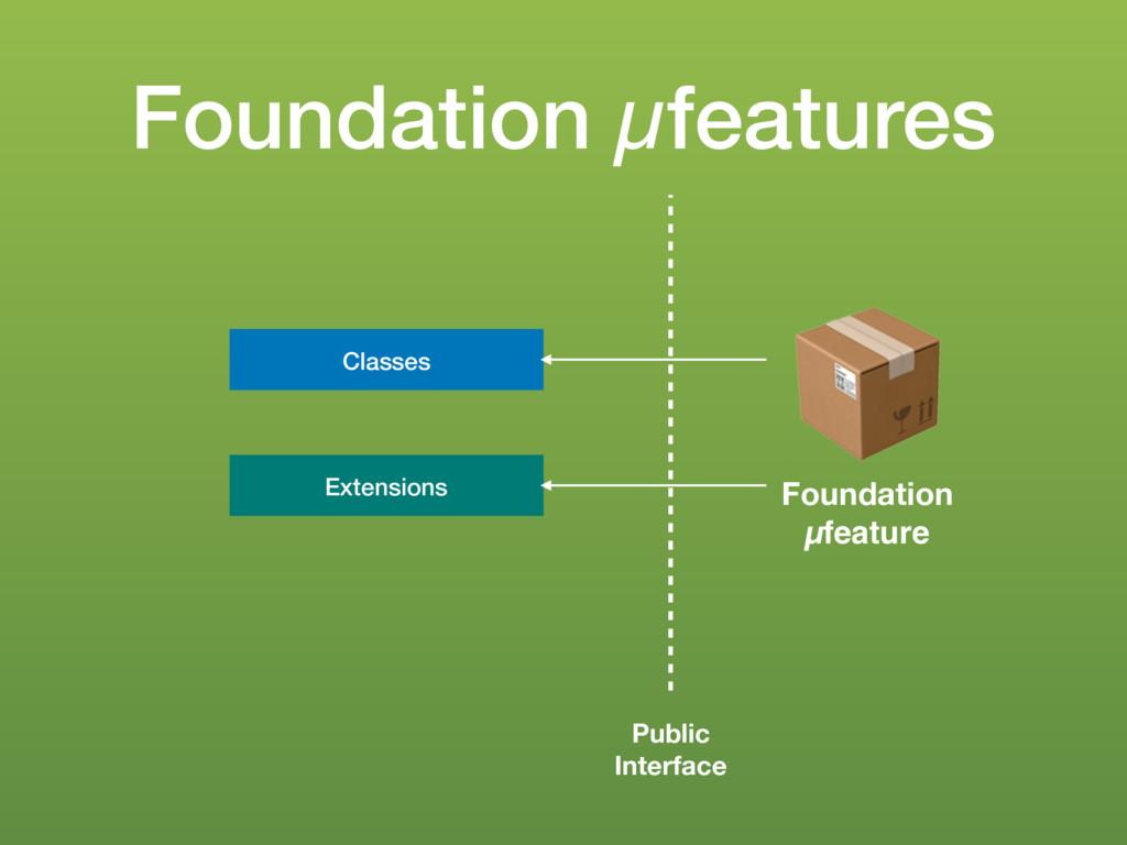 Foundation µfeatures $ Foundation µfeature Cla...