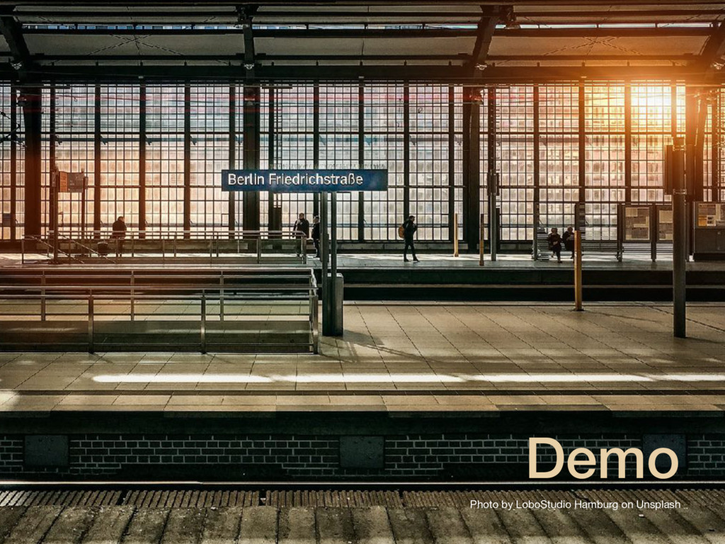 Demo Photo by LoboStudio Hamburg on Unsplash