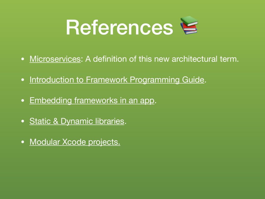 References % • Microservices: A definition of th...
