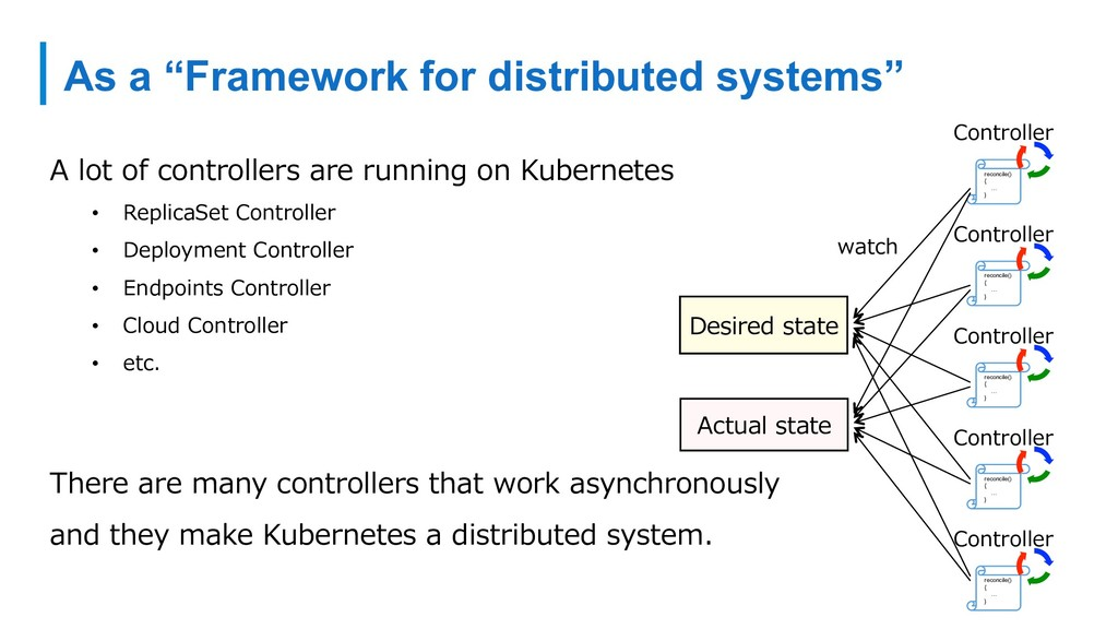 "As a ""Framework for distributed systems"" A lot ..."