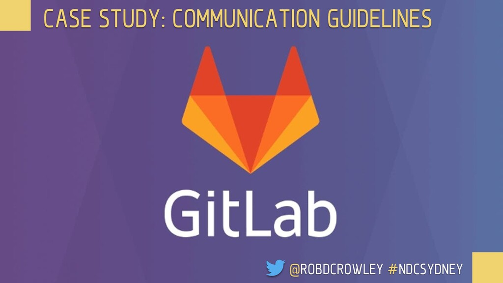 CASE STUDY: COMMUNICATION GUIDELINES @ROBDCROWL...