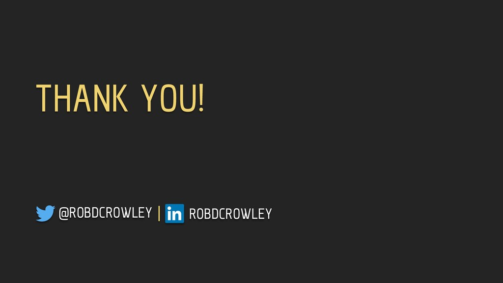 @ROBDCROWLEY | ROBDCROWLEY THANK YOU!