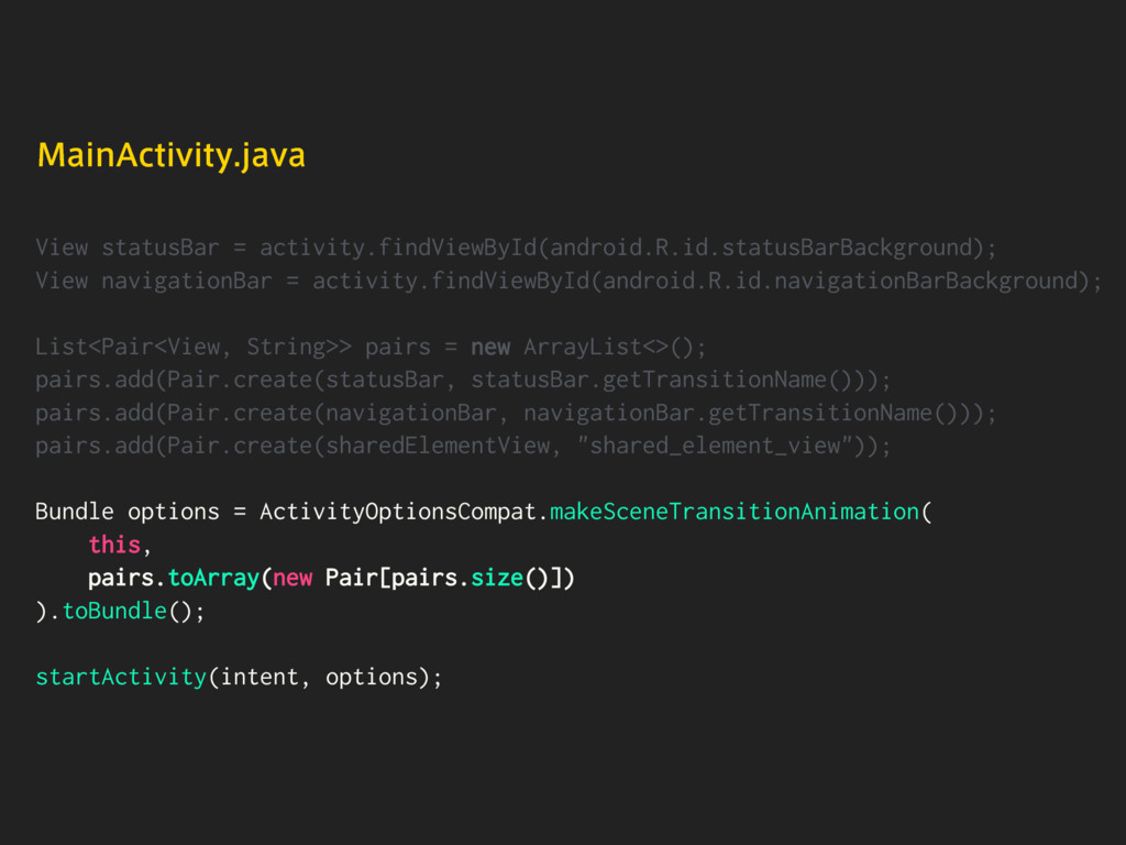 View statusBar = activity.findViewById(android....
