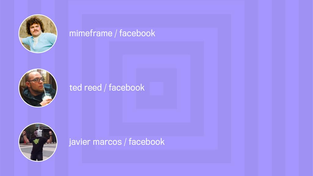 javier marcos / facebook ted reed / facebook mi...