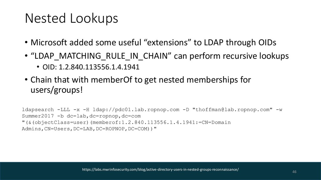 """Nested Lookups • Microsoft added some useful """"e..."""