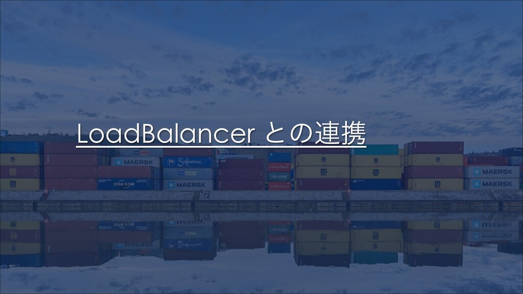LoadBalancer ͱͷ࿈ܞ