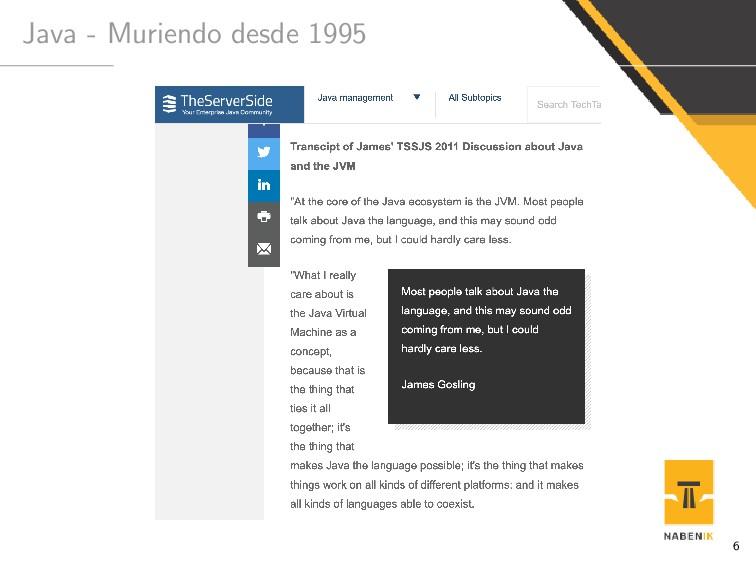 Java - Muriendo desde 1995 6