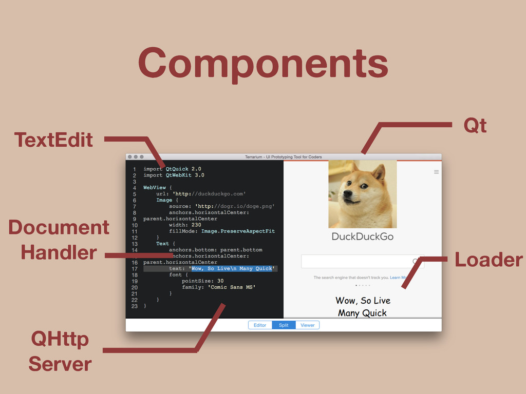 QHttp Server Document Handler TextEdit Loader Q...