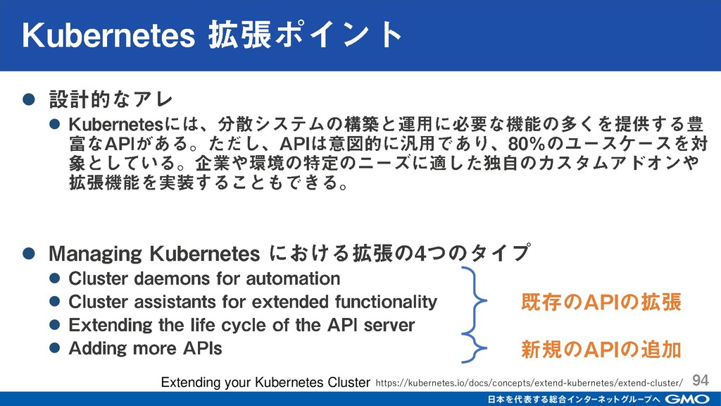 ⚫ ⚫ ⚫ ⚫ ⚫ ⚫ ⚫ Extending your Kubernetes Cluster...