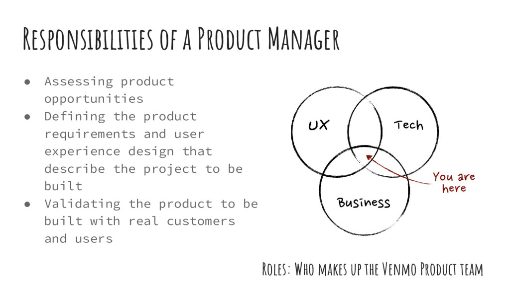 ● Assessing product opportunities ● Defining th...