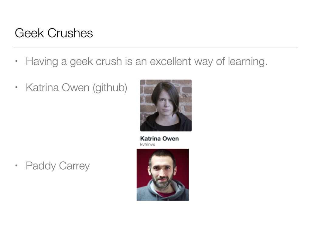 Geek Crushes • Having a geek crush is an excell...