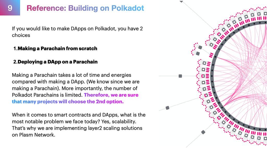 9 Reference: Building on Polkadot