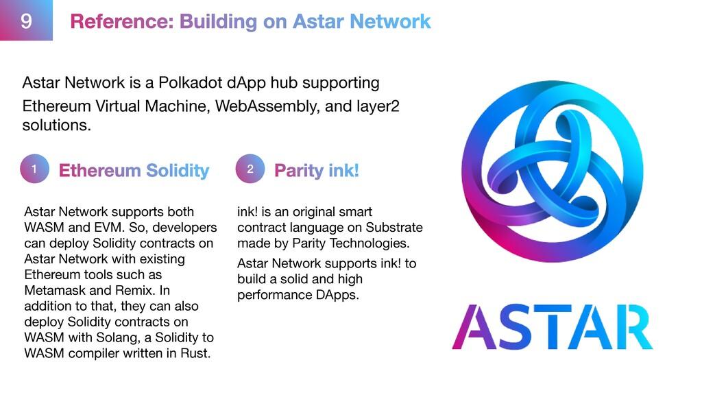 9 Reference: Building on Astar Network Astar Ne...