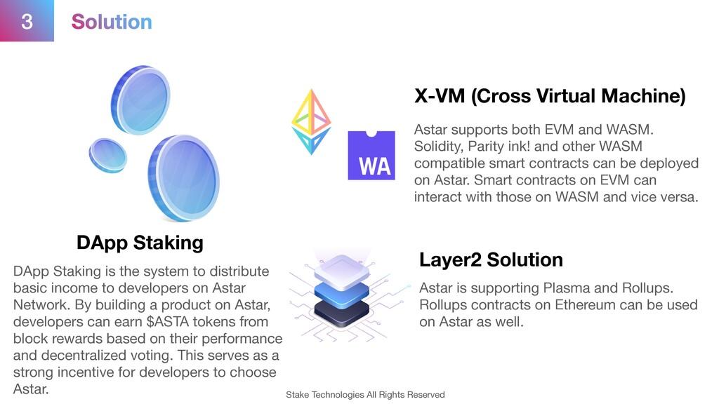 3 DApp Staking X-VM (Cross Virtual Machine) Lay...
