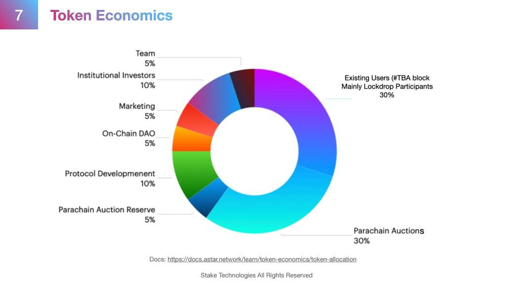 7 Token Economics Docs: https://docs.astar.netw...