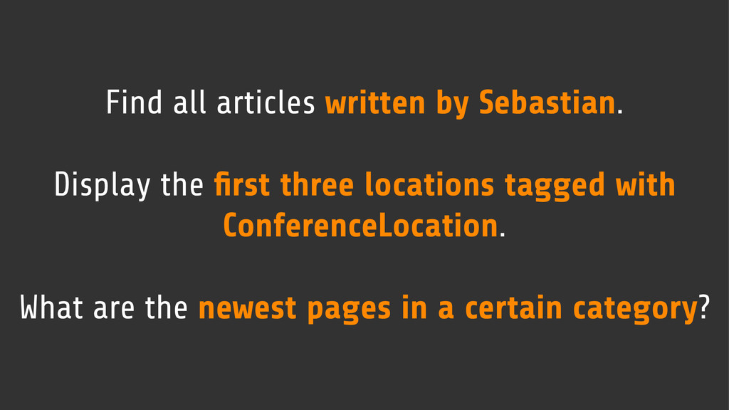 Find all articles written by Sebastian. Display...