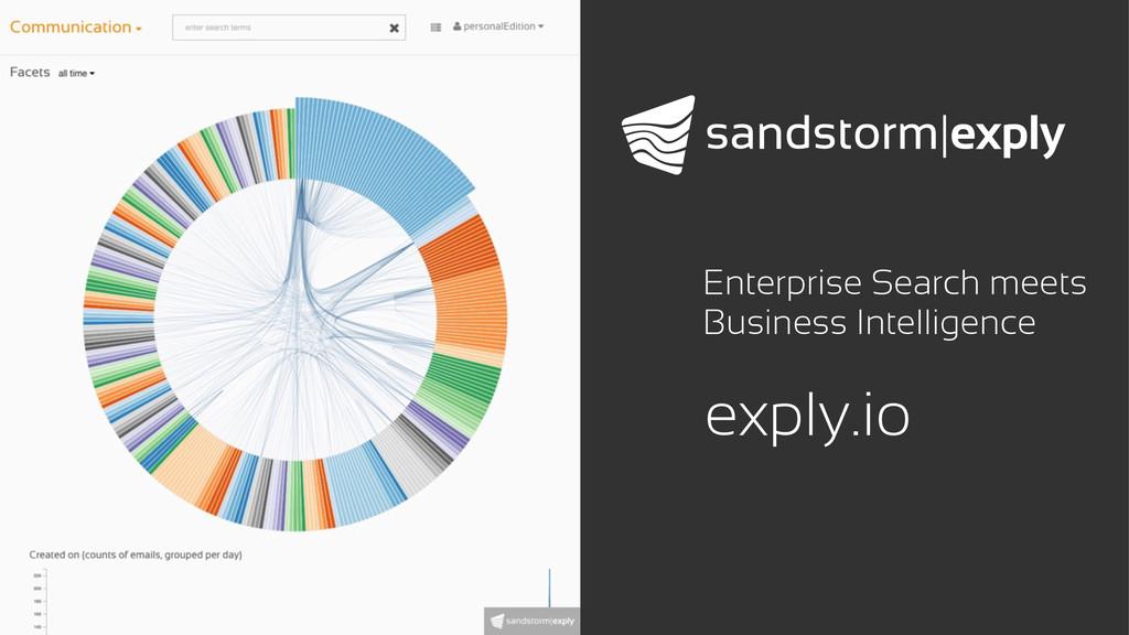 exply.io Enterprise Search meets Business Intel...