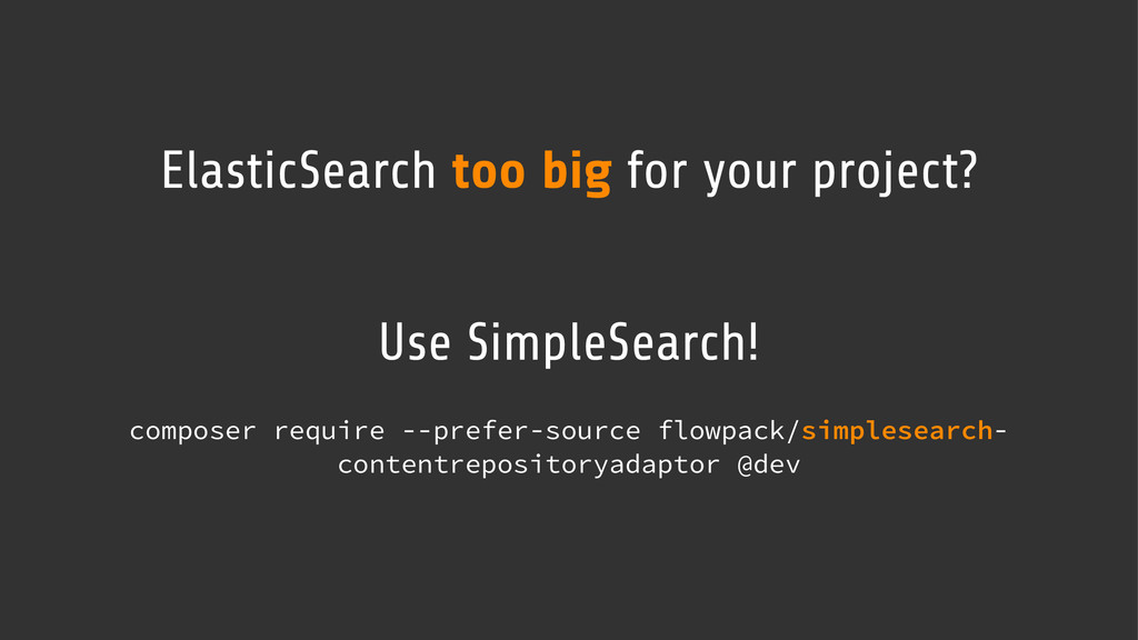 ElasticSearch too big for your project? Use Sim...