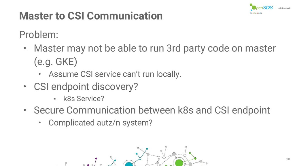 COPENHAGEN mini summit 18 Master to CSI Communi...