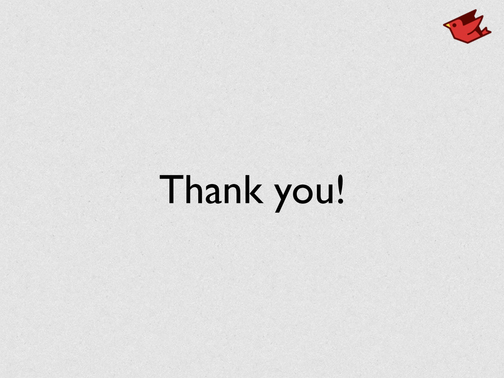 Thank you!