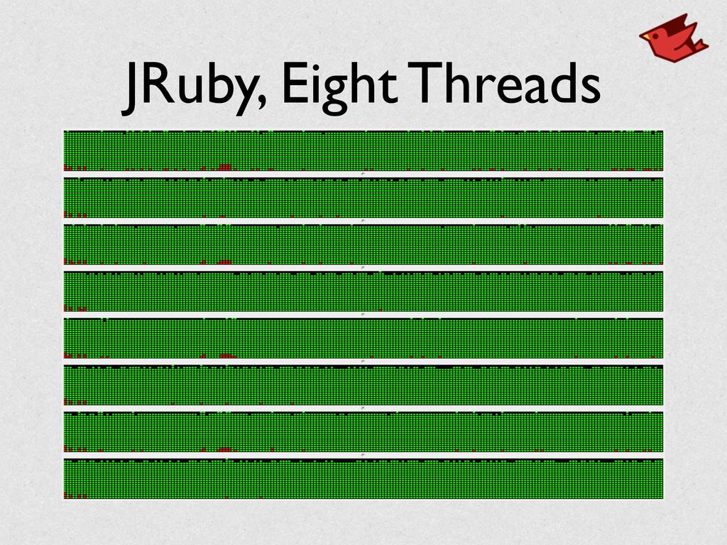 JRuby, Eight Threads