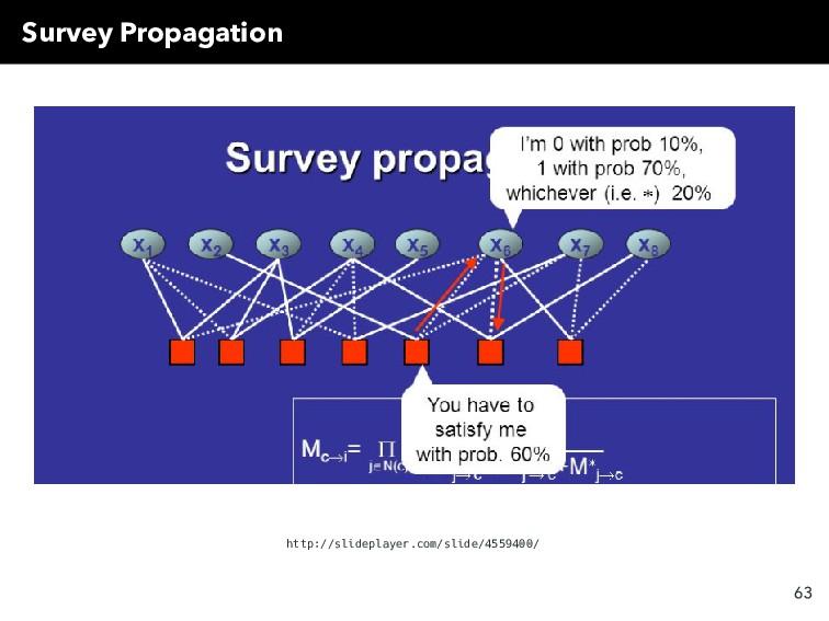 Survey Propagation http://slideplayer.com/slide...