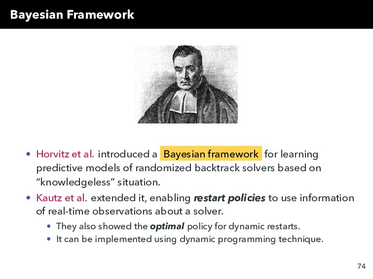 Bayesian Framework • Horvitz et al. introduced ...
