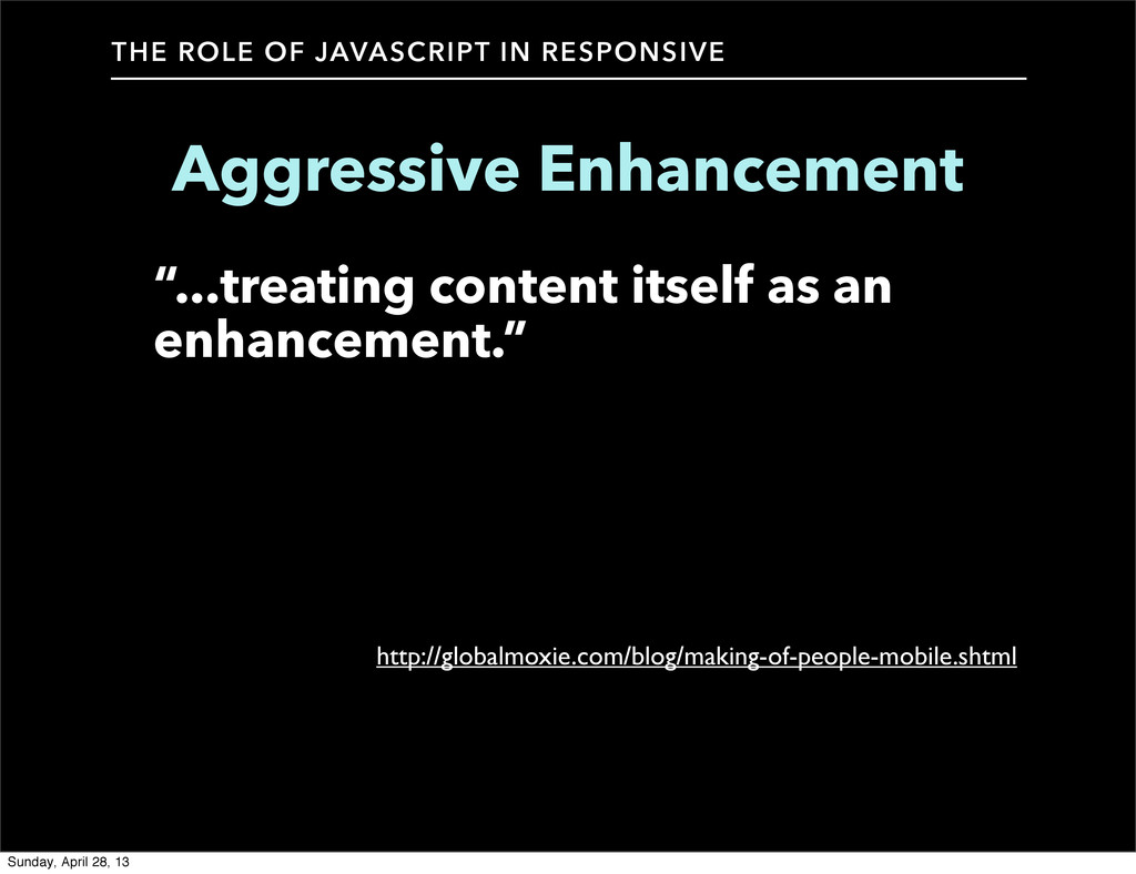 THE ROLE OF JAVASCRIPT IN RESPONSIVE Aggressive...