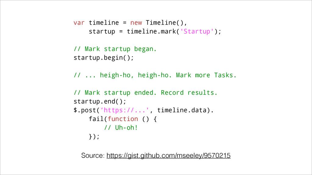 var timeline = new Timeline(), startup = timeli...