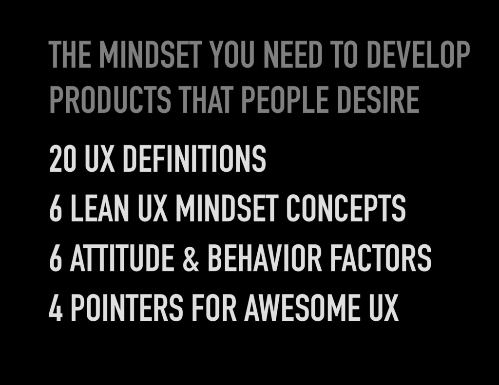 THE MINDSET YOU NEED TO DEVELOP PRODUCTS THAT P...