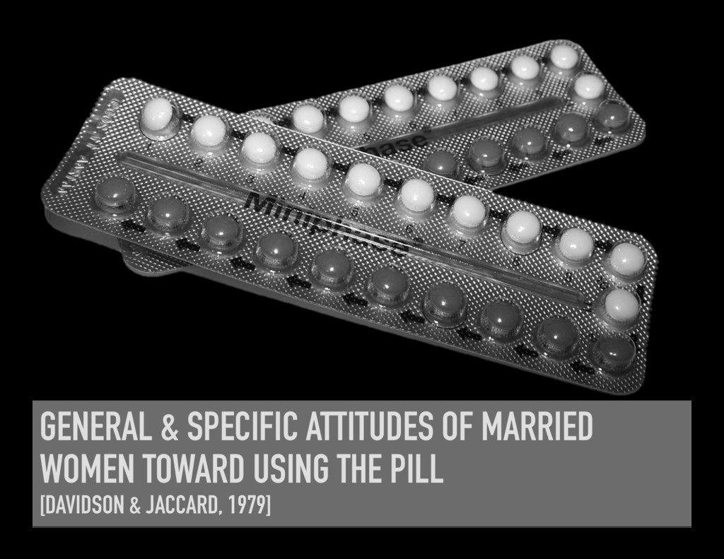 GENERAL & SPECIFIC ATTITUDES OF MARRIED WOMEN T...