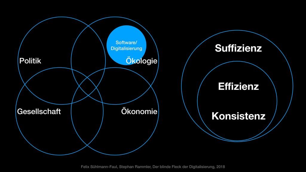 Software/ Digitalisierung Ökologie Effizienz Kon...