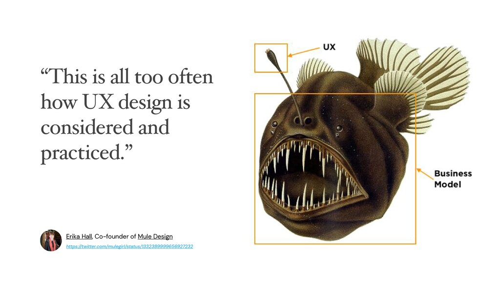 """""""This is all too often how UX design is conside..."""