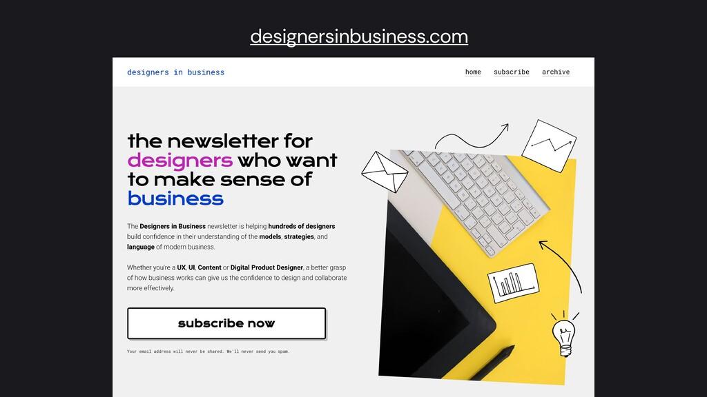 designersinbusiness.com