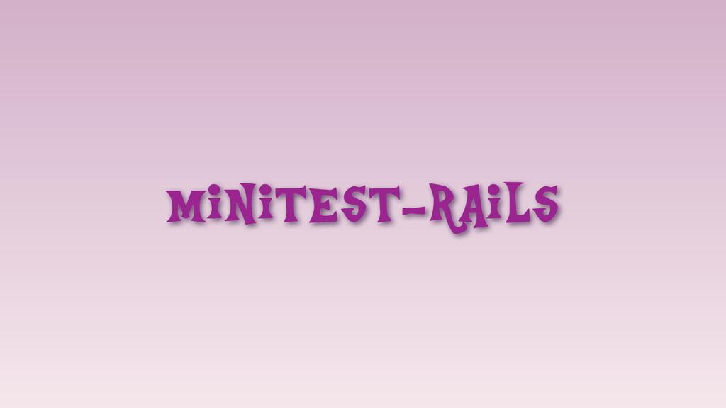 minitest-rails