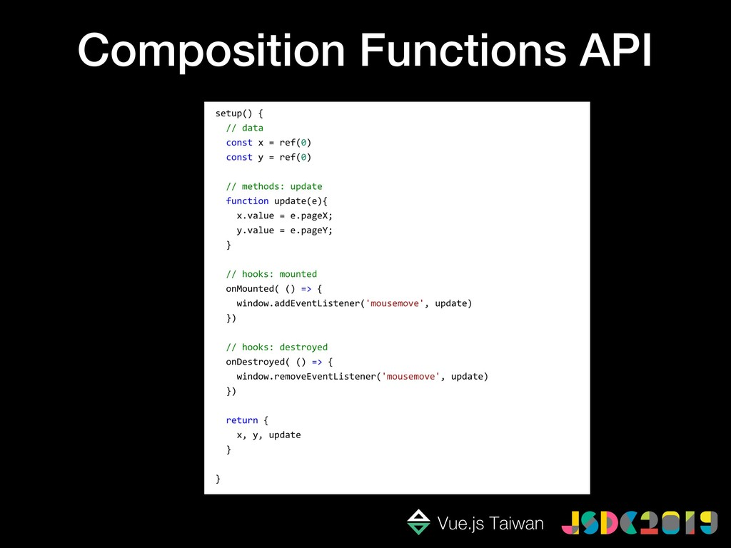 Composition Functions API