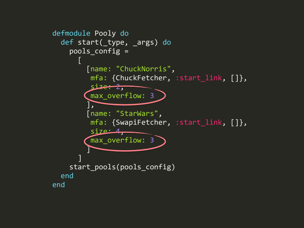 defmodule Pooly do def start(_type, _args) do p...