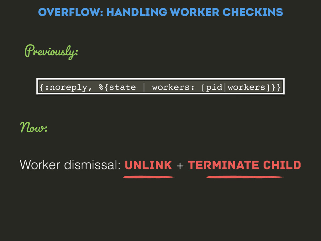 {:noreply, %{state | workers: [pid|workers]}} W...