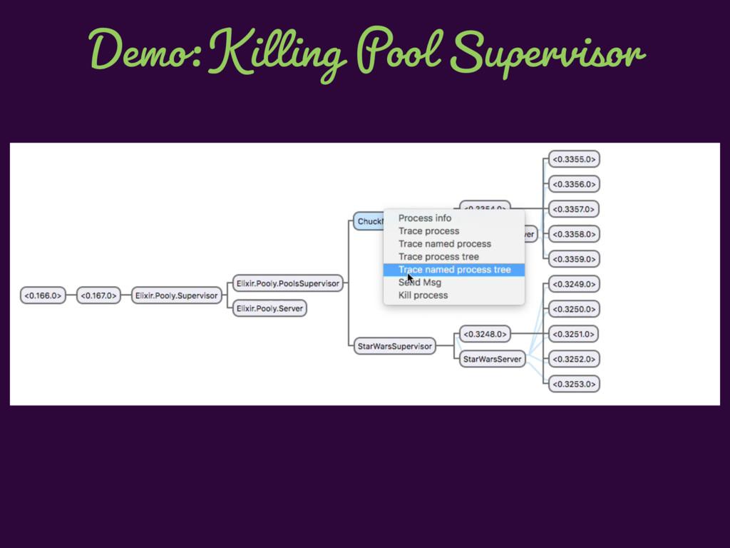 Demo: Killing Pool Supervisor